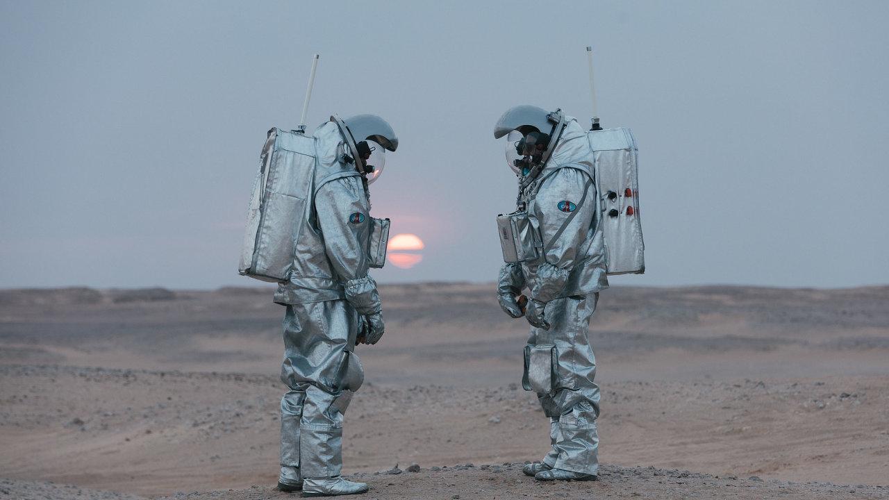 Analogoví astronauti.