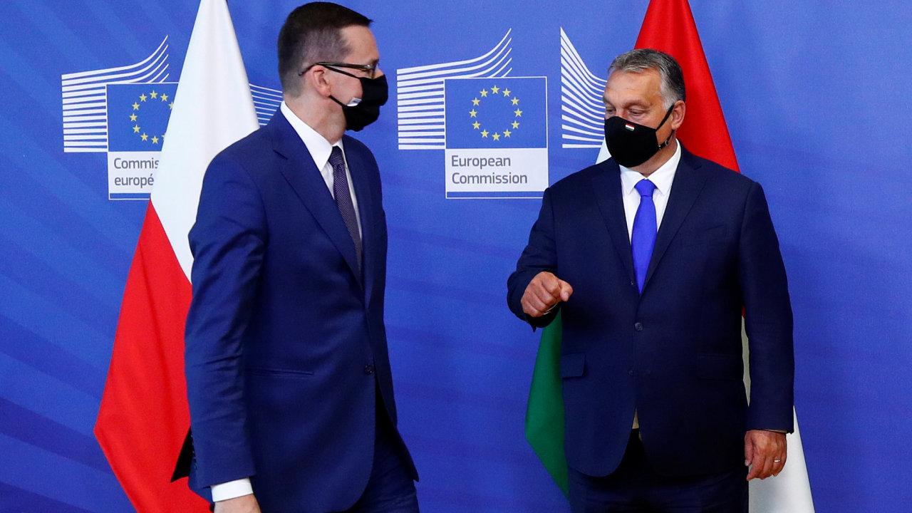 Mateusz Morawiecki a Viktor Orbán