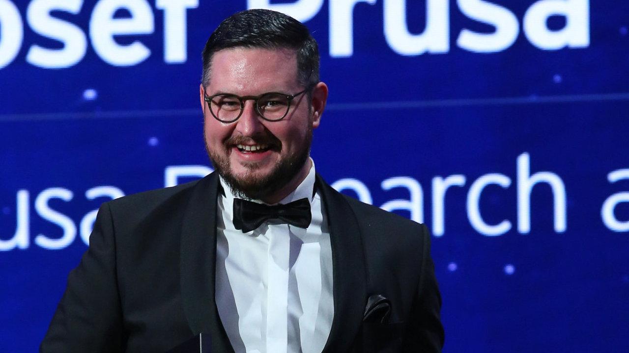 Vítězem soutěže EY Podnikatel roku 2020 se stal Josef Průša.