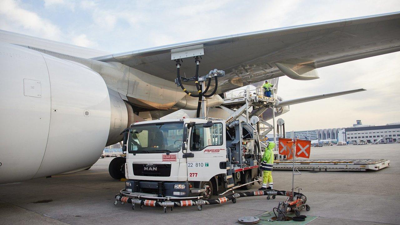 Z technických a legislativních důvodu zatím není možné tankovat letadla pouze udržitelným leteckým palivem, a proto je přimícháváno do běžného kerosinu.