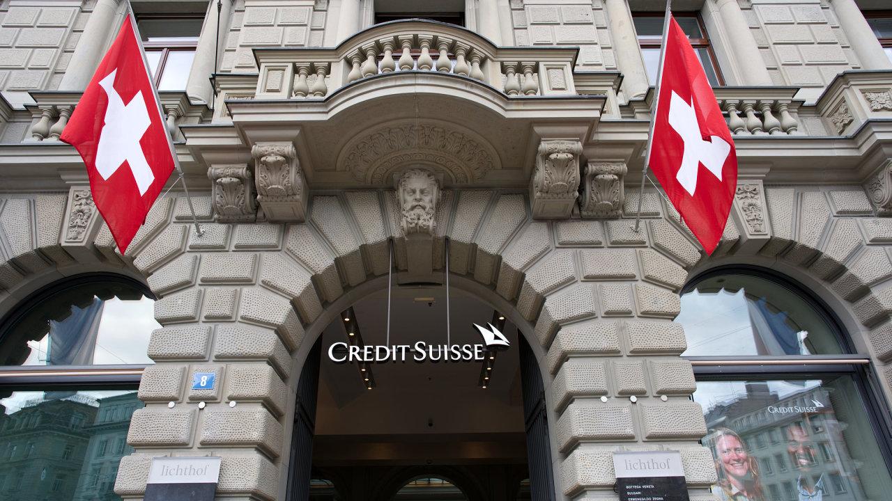 Credit Suisse, banka
