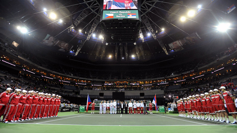 Finále Fed Cupu v O2 areně