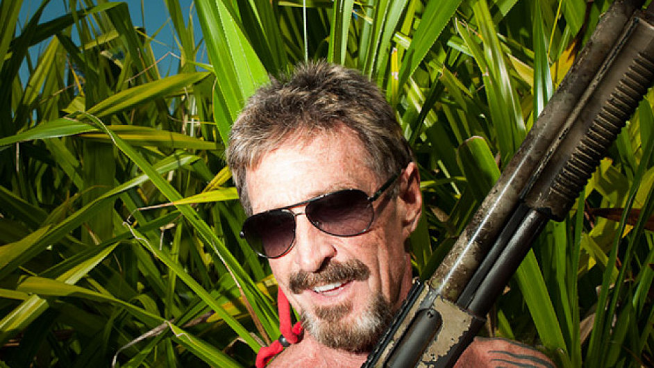 John McAfee na snímku z listopadu 2012.