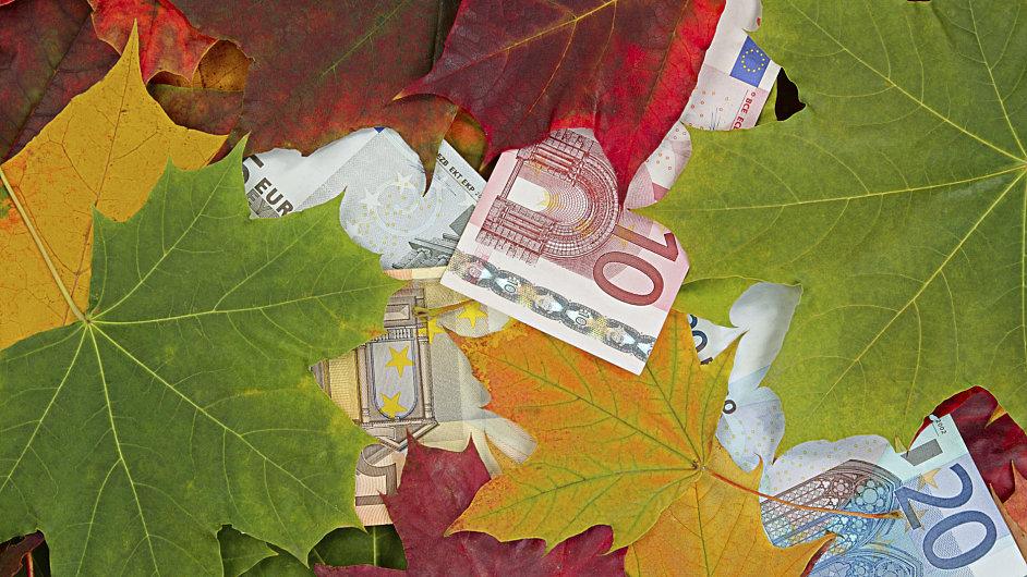 Eurozóna se propadla do recese, ilustrační foto