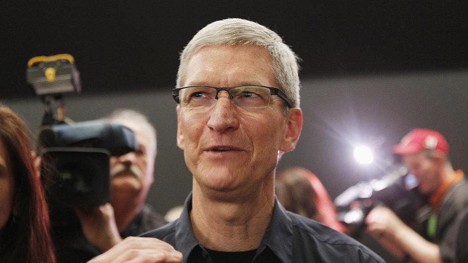 Generální ředitel firmy Apple Tim Cook.