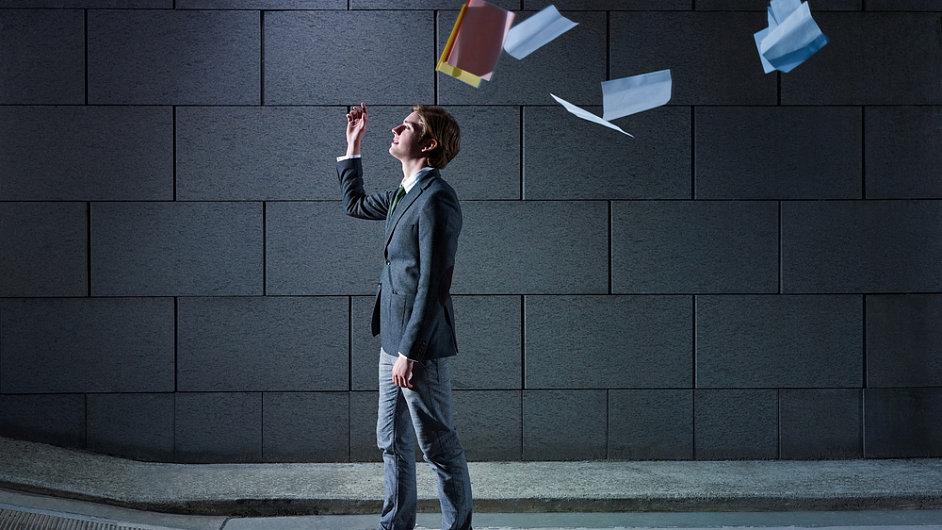Ilustrace: odchod ze zaměstnání
