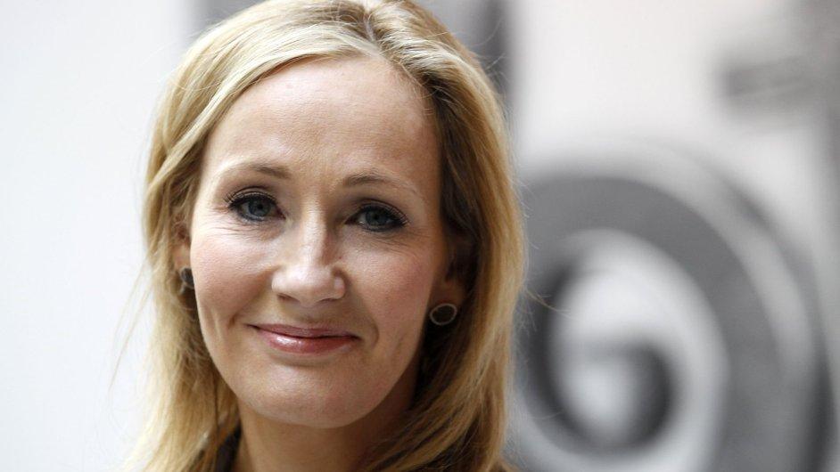 Britská spisovatelka J. K. Rowlingová