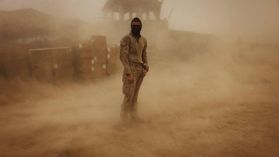 Americký voják v Afghánistánu, ilustrační foto