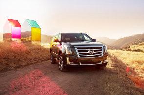 Nový Cadillac Escalade je demonstrací síly a amerického stylu bling-bling