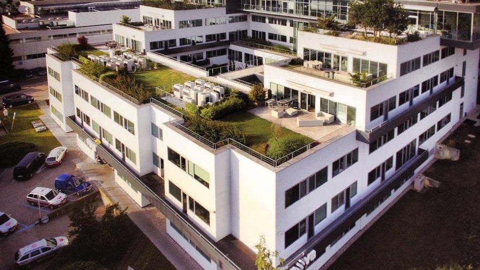 Budova skupiny Nova a CME na pražském Barrandově.