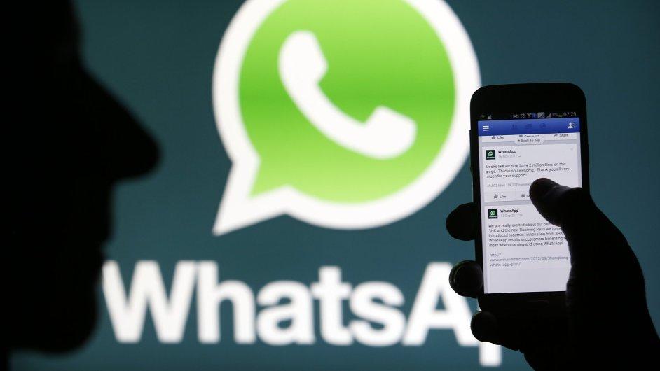 Komunikační aplikace WhatsApp začne od soboty uplatňovat nové podmínky použití.