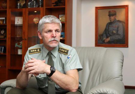 Náčelník Generálního štábu Armády České republiky Petr Pavel