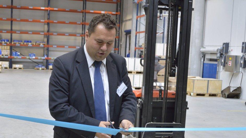 Společnost ZKL otevřela nový centrální sklad hotových výrobků