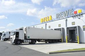 BILLA otevřela v Modleticích na D1 u Prahy nový sklad čerstvých potravin