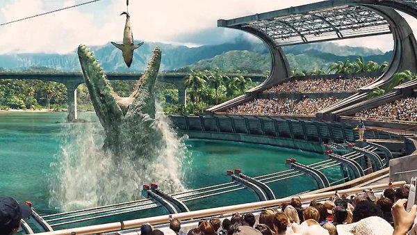 Jurský svět z roku 2015 je s tržbami 1,66 miliardy dolarů třetím komerčně nejúspěšnějším filmem všech dob.