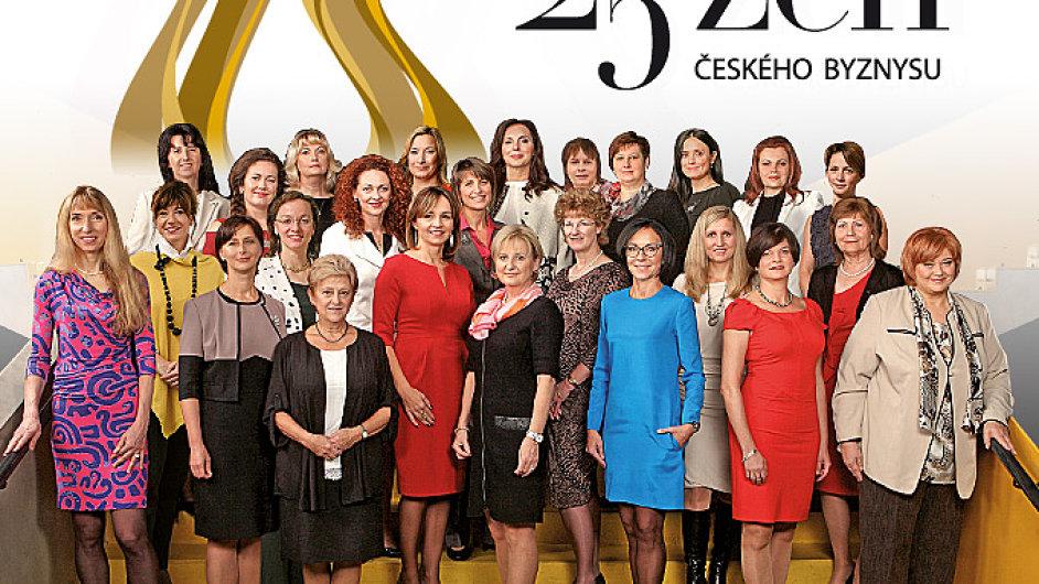TOP 25 žen českého byznysu 2014