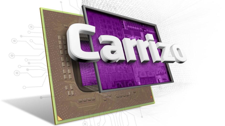 Logo procesoru AMD Carrizo