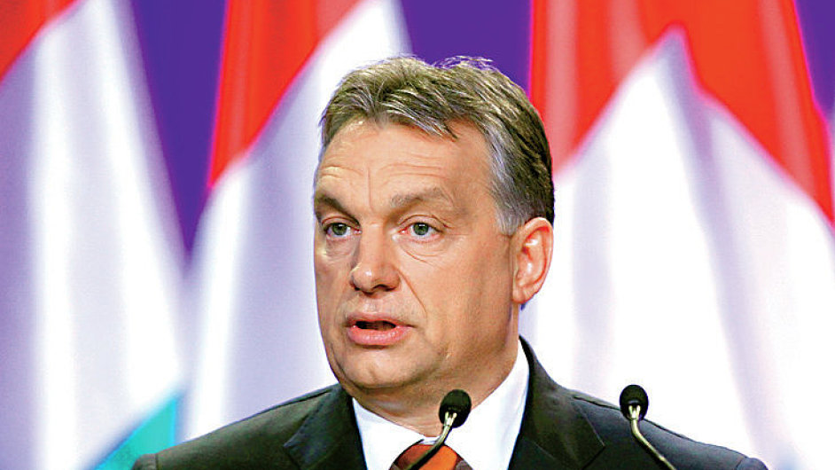 Hungarian Prime Minister Viktor Orban looks on during his annual state-of-the-nation speech in Budapest February 27