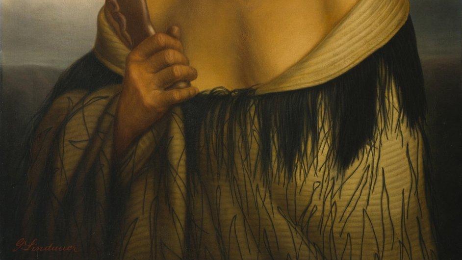 Snímky z výstavy Gottfrieda Lindauera