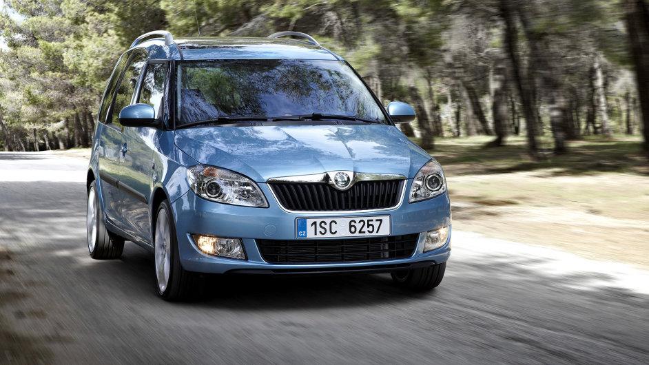 Škoda Roomster - aktuálně nejlevnější nové MPV s klimatizací.