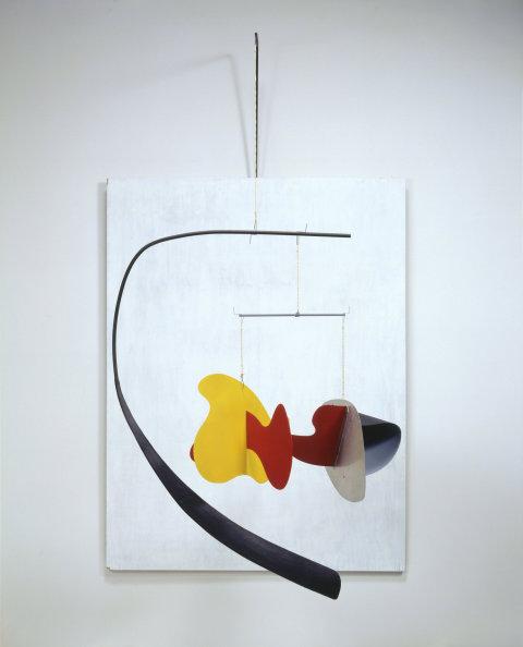 Alexander Calder: White Panel, 1936