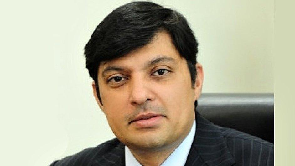 Vijay Mahadevan,předseda představenstva a generální ředitel ArcelorMittal Ostrava