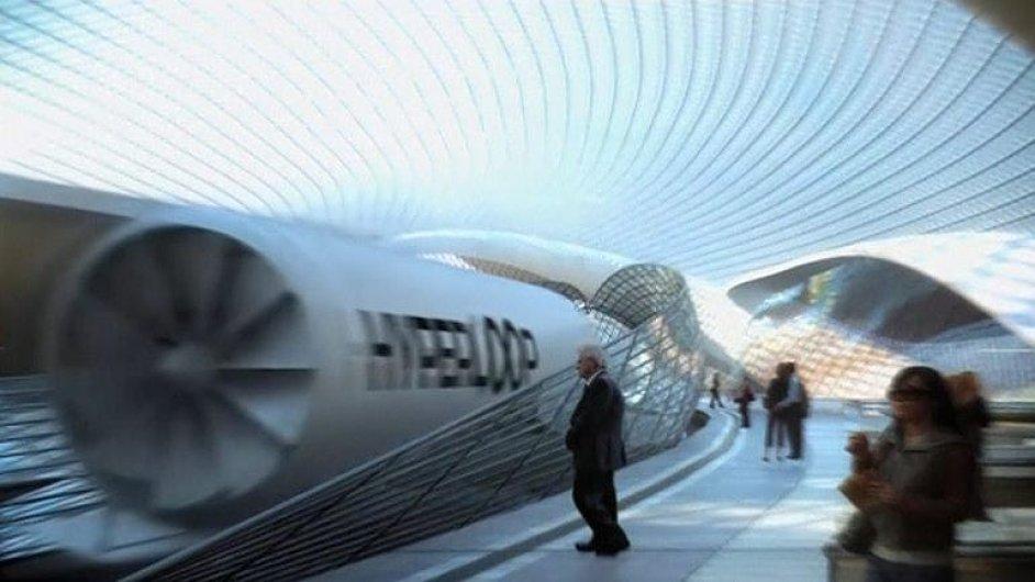 Proběhl úspěšný test cestování budoucnosti. Hyperloop zrychlil z nuly na sto mil za 1,1 vteřiny