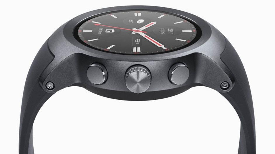 Chytré hodinky LG Sport