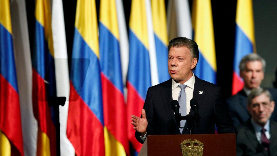 Juan Manuel Santos, prezident Kolumbie