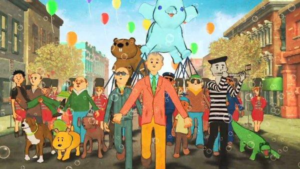 Snímek z videoklipu k albu Paula Shaffera.