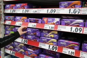 V ČR je Mondelez jedničkou ve výrobě a prodeji sušenek a cukrovinek. Do jeho portfolia patří i čokoláda Milka - Ilustrační foto.