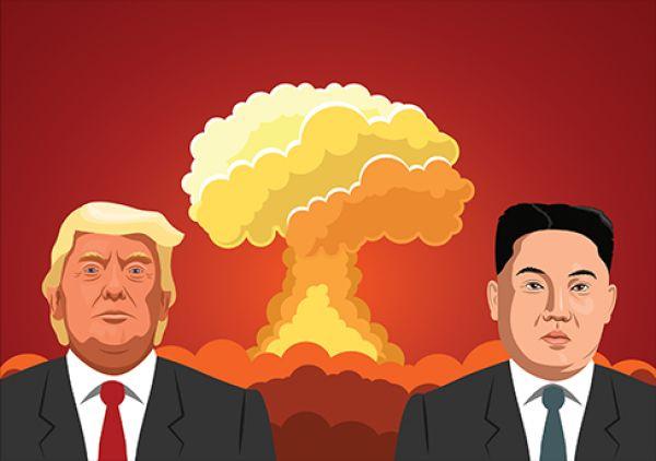 KLDR, Trump, Kim, USA