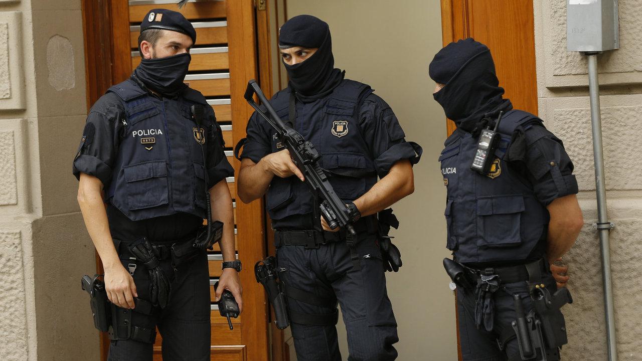 Španělská policie, Španělsko, policie, terorismus