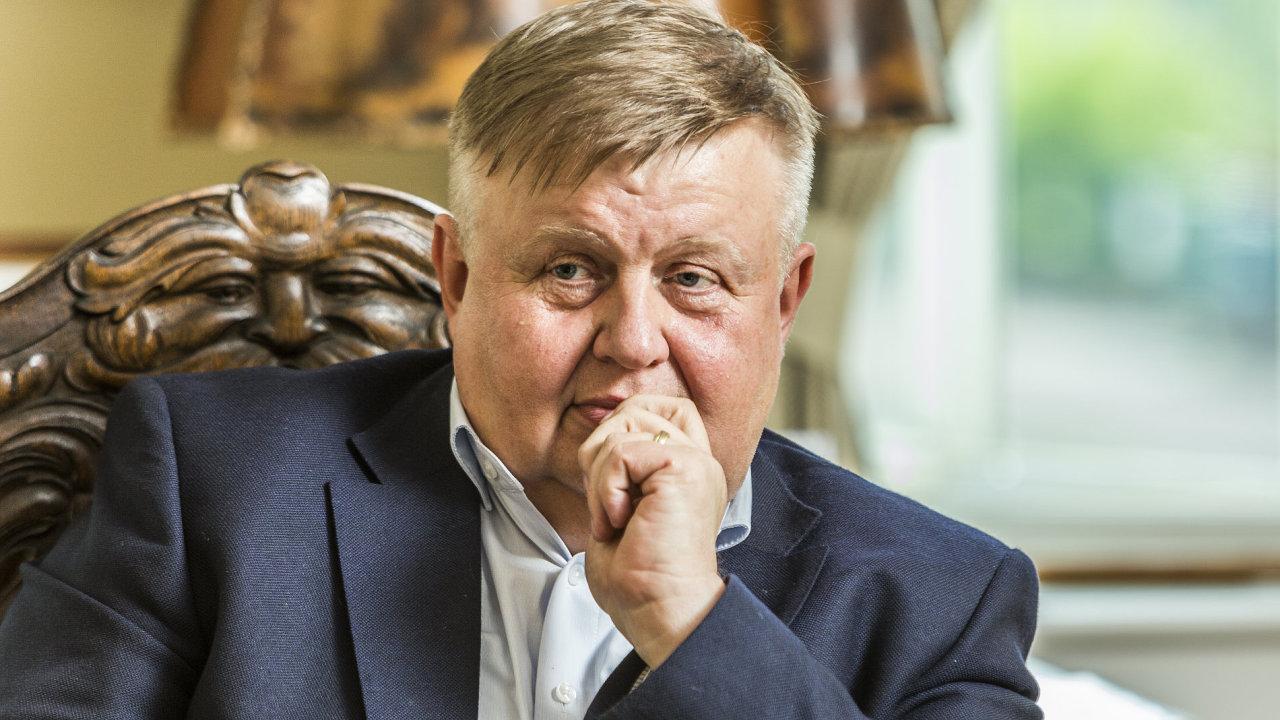 Jan Světlík, majitel jedné z největších průmyslových skupin v České republice.