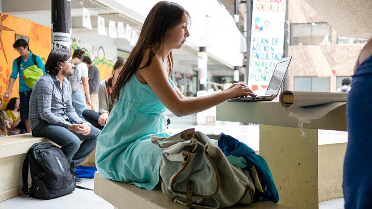 univerzita, internet, student