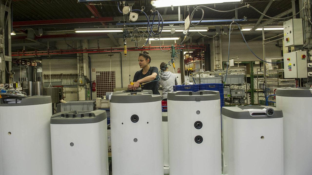Do švédské skupiny NIBE patří i výrobce bojlerů DZ Dražice.
