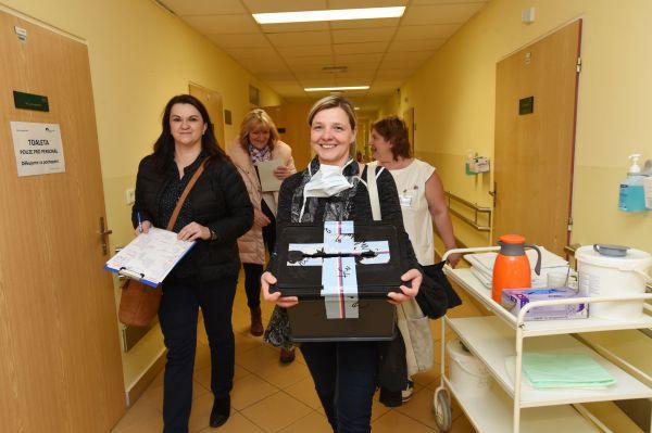 Volit mohou i pacienti ve Fakultní nemocnici Olomouc.