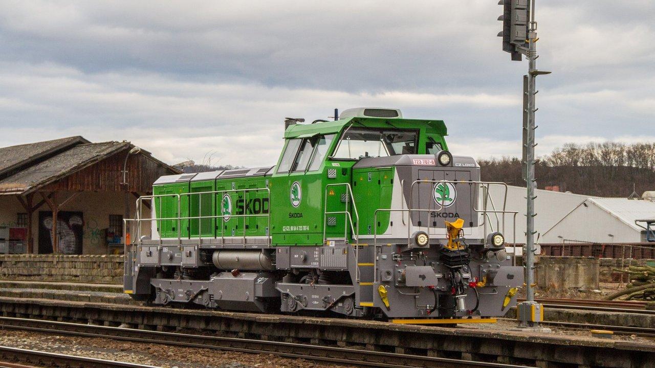 Lokomotiva EffiShunter 500