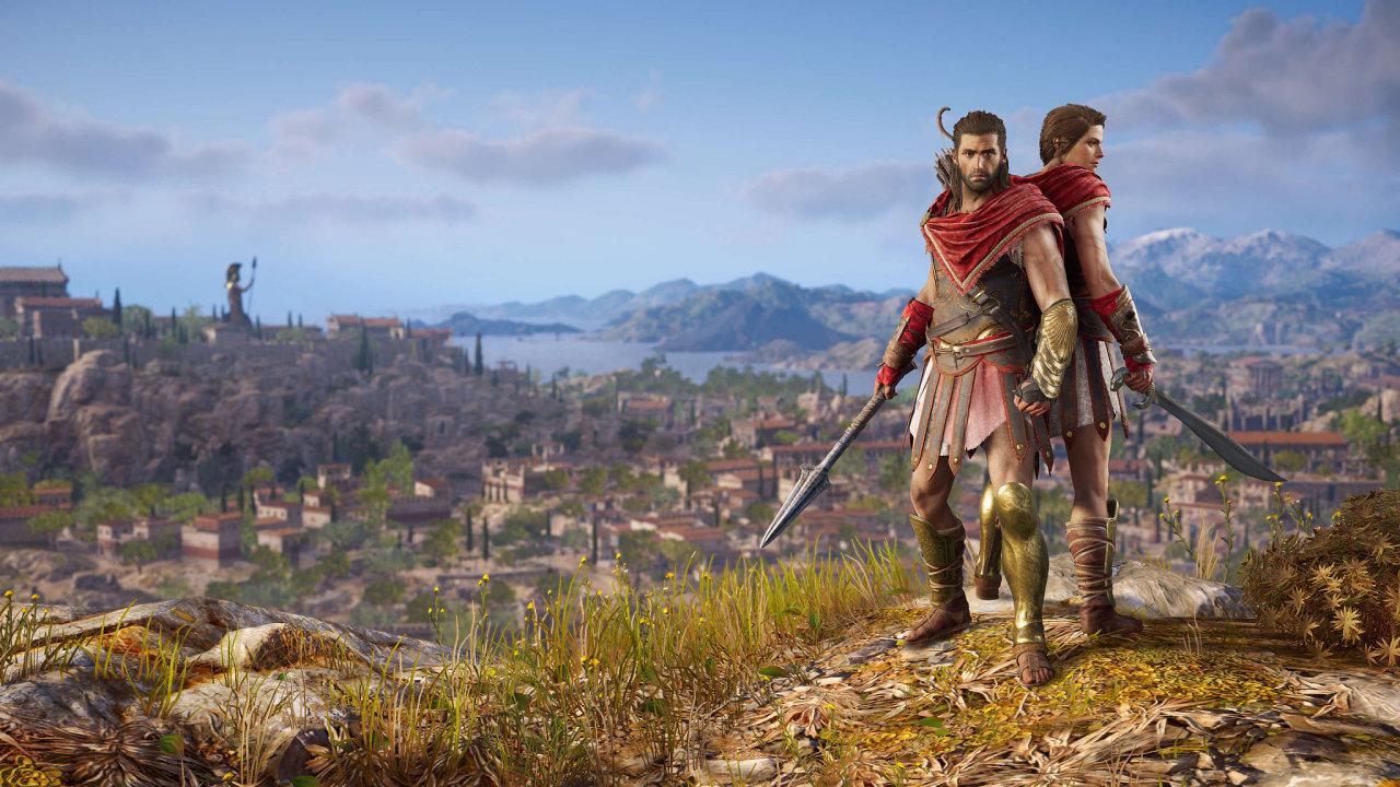 Assassin's Creed: Odyssey má hned dva hlavní hrdiny, Alexia a Kassandru