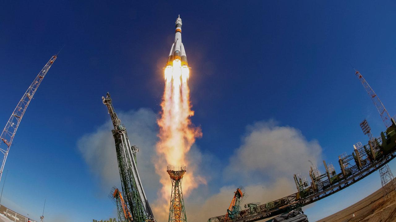 Nezdařený start ruské lodě Sojuz MS-10