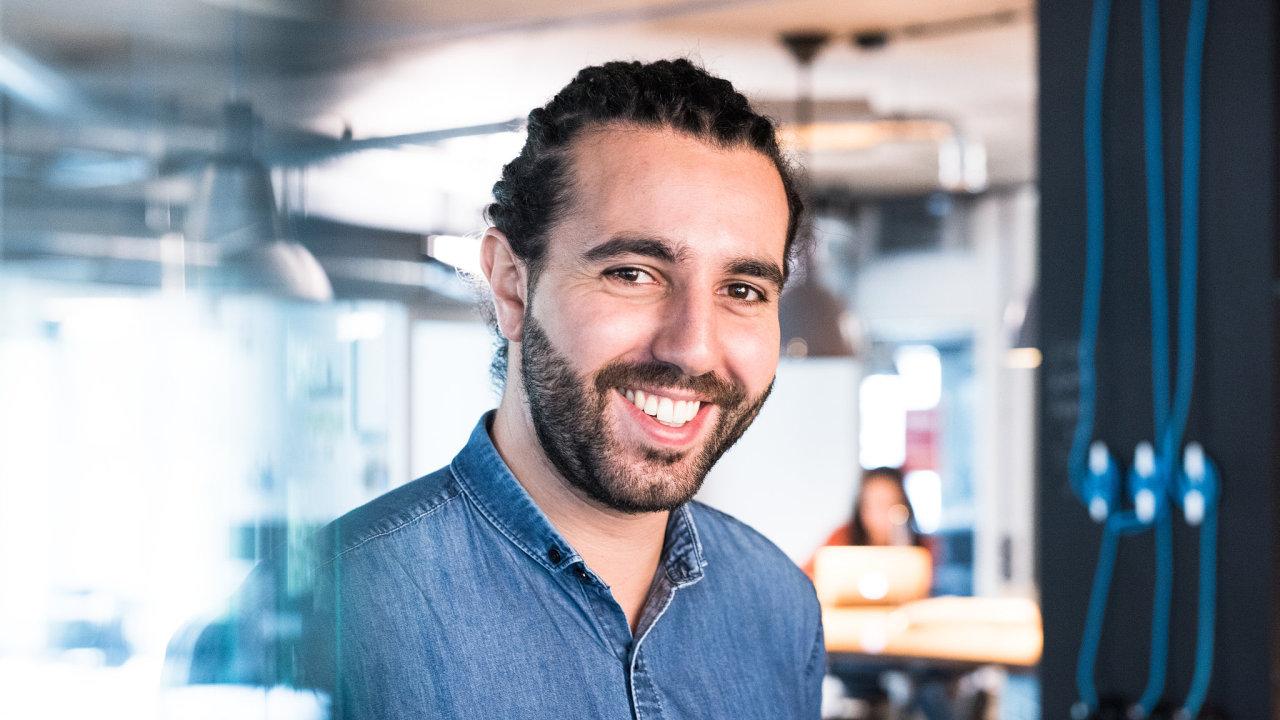 Ředitel a spoluzakladatel německého modního e-shopu About You Tarek Müller.