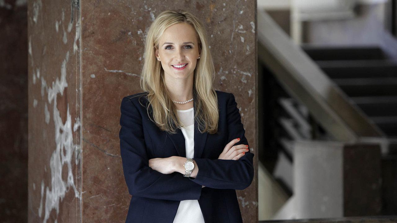 Marie Talašová z advokátní kanceláře White & Case.