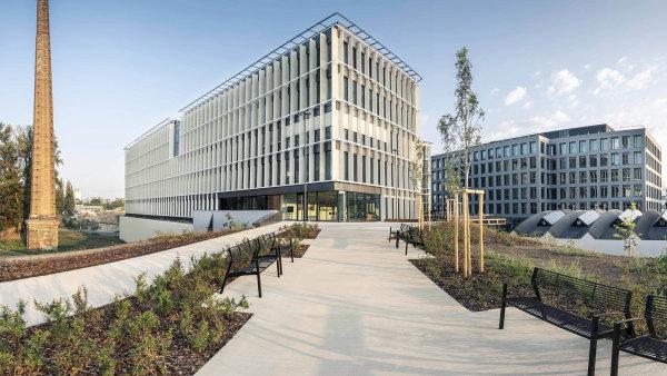 Metrostav prodává komplex kanceláří na pražské Palmovce. Za tři administrativní budovy chce získat dvě a půl miliardy korun