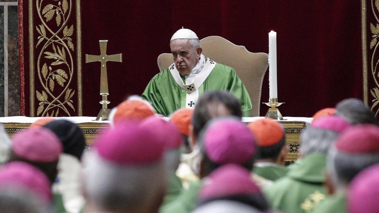 Papež František.