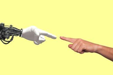 95 % zákazníků nechce při nákupu hovořit s roboty, ilustrace