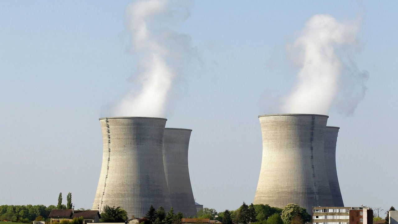 ilustrační foto: Jaderná elektrárna