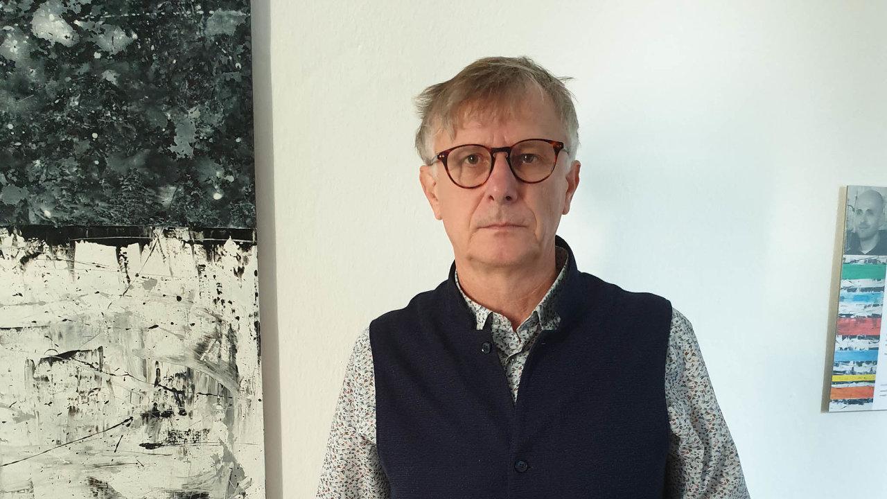 Literární vědec a starosta města Velký Týnec Petr Hanuška
