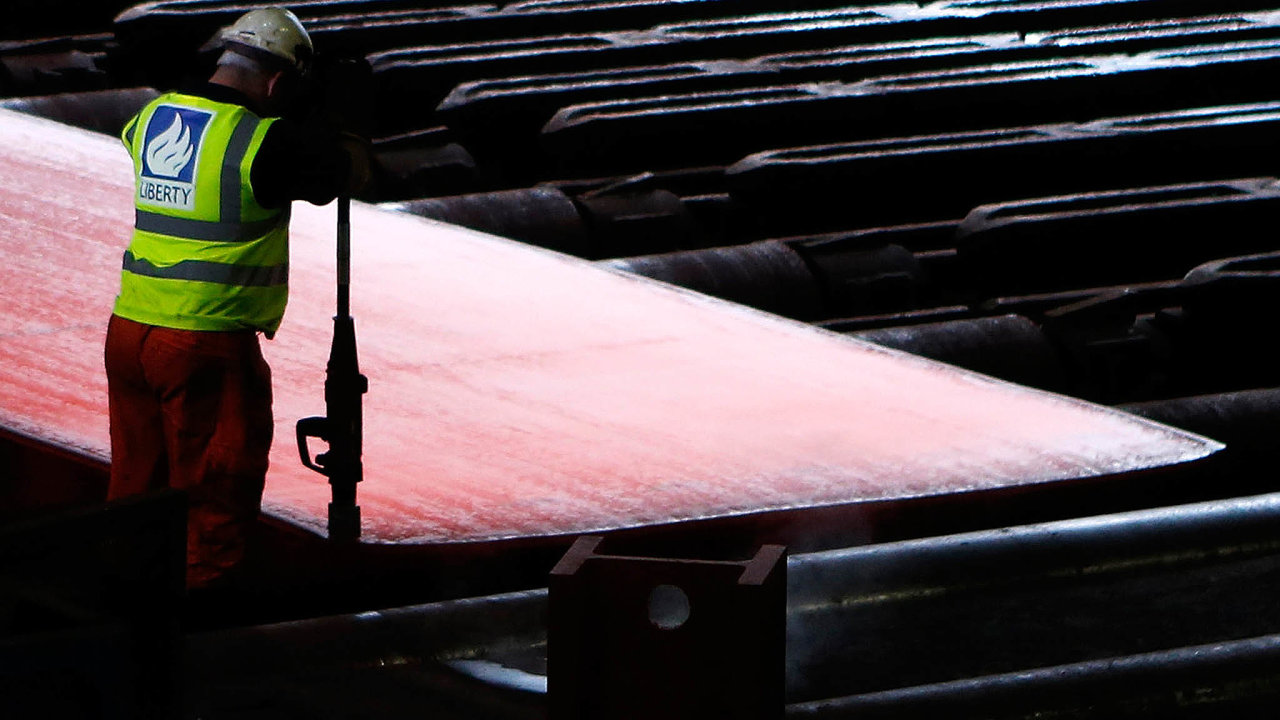 Čekání na investice. Ocelárny Liberty Steel mají do ostravské huti v příštích deseti letech mohutně investovat.