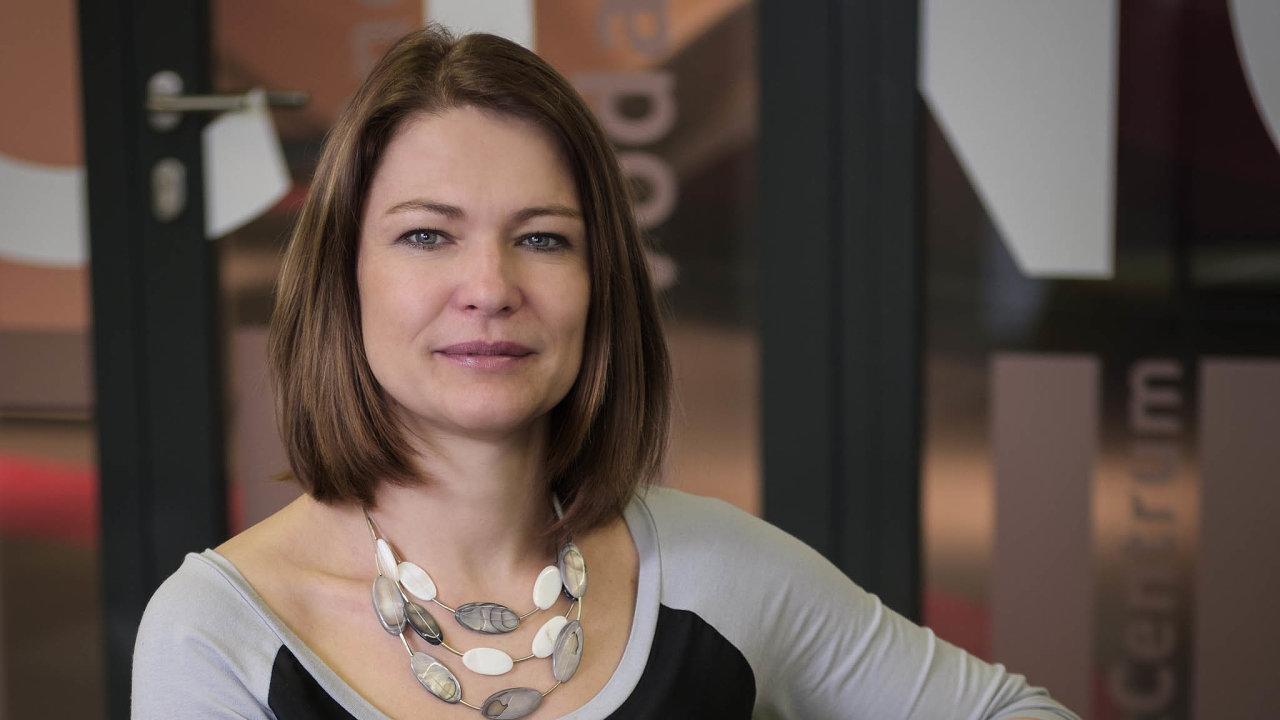 Magdalena Wavle, ředitelka oddělení talentu arozvoje, Vodafone CZ