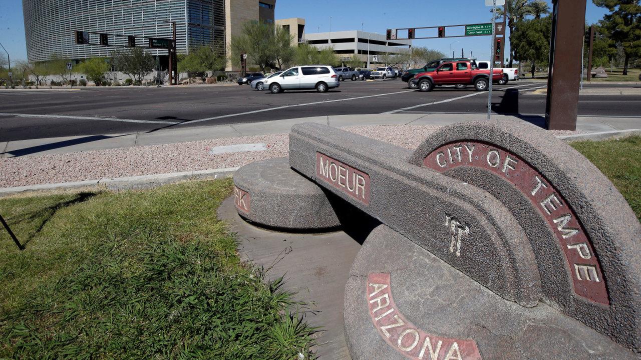 uber, nehoda, Tempe, Arizona, samořídící/autonomní auto